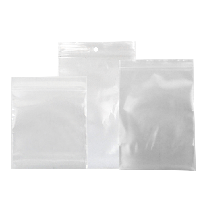 Clear Zip & Slider Bags