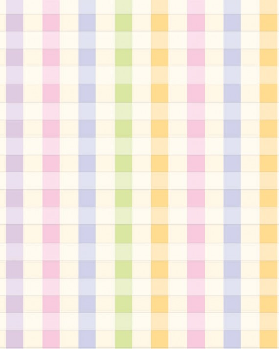Pastel Plaid Gift Wrap - Full Ream