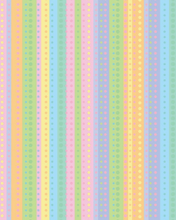 Dotty Stripe Gift Wrap - Half Ream