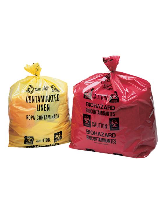 Contaminated Linen Laundry Bags