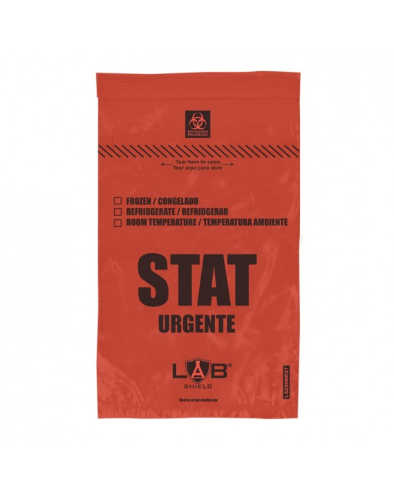 STAT Zipper Specimen Bags