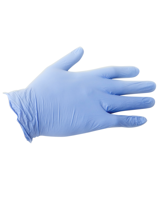 8 MIL Blue Exam Gloves