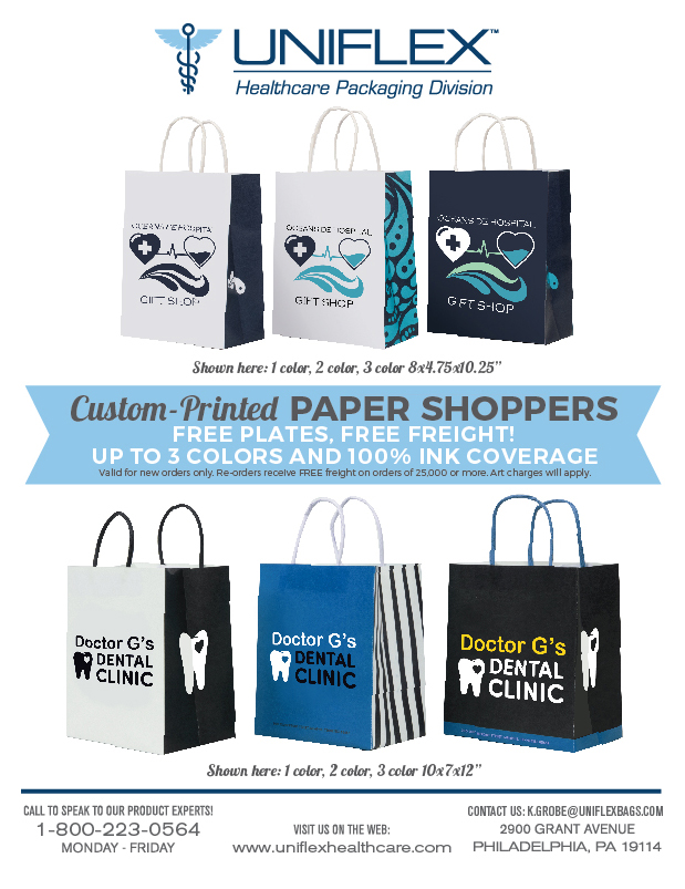 Custom Paper Shoppers
